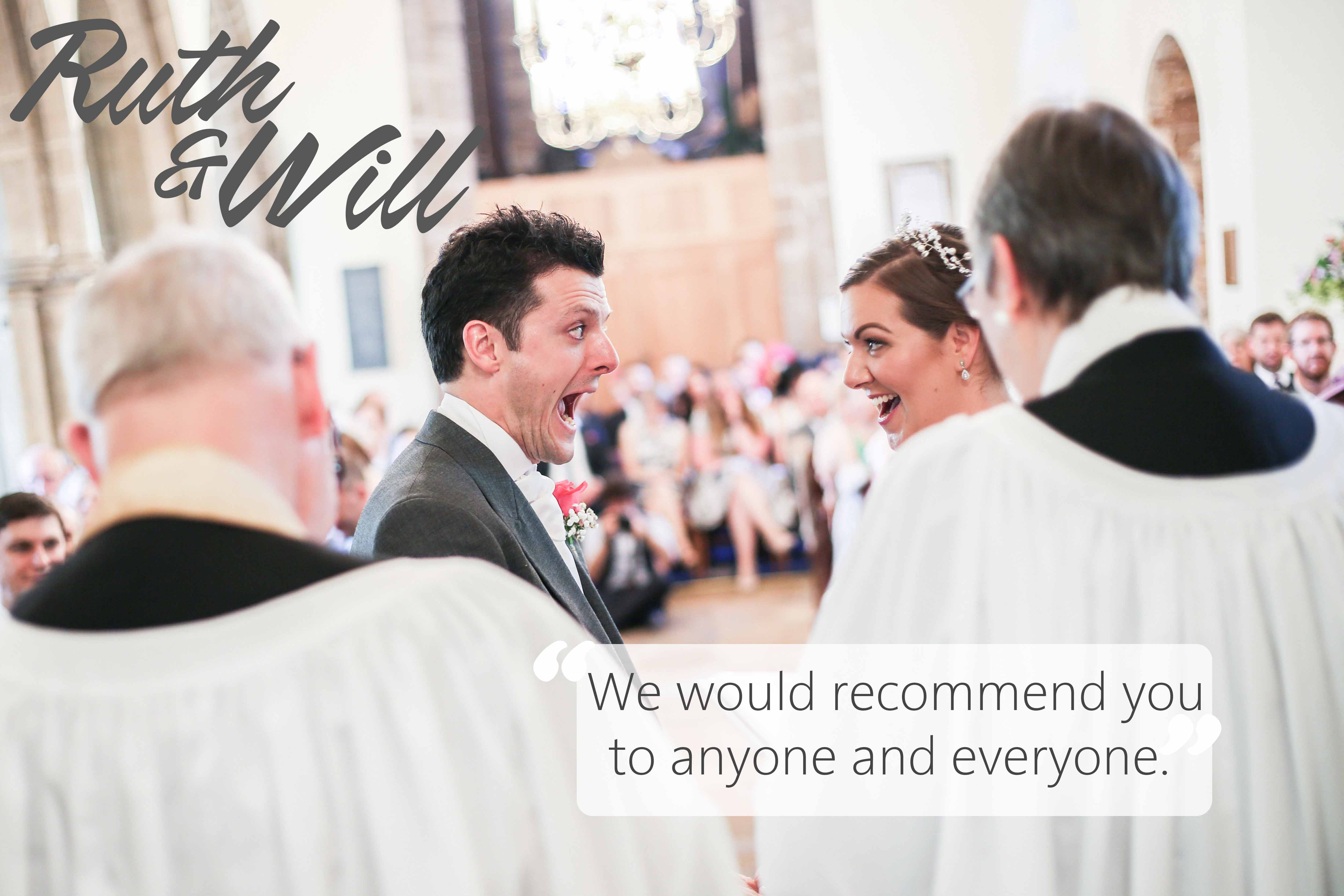 Ruth & Will's wedding photography