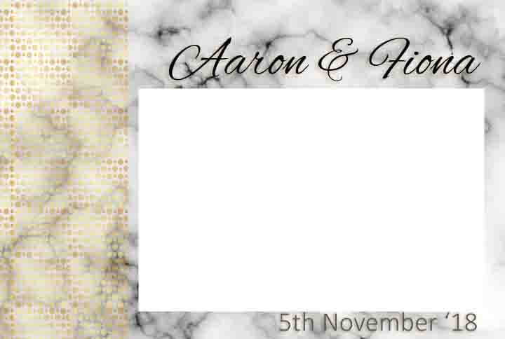 Shot Marble Photobooth template