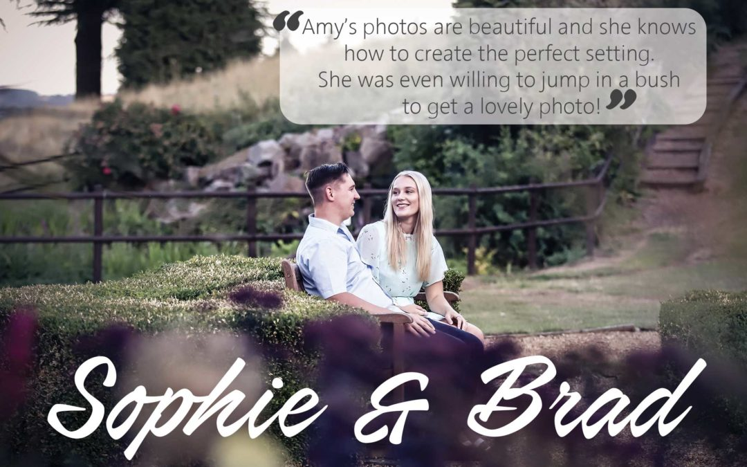Sophie & Brad's engagement shoot