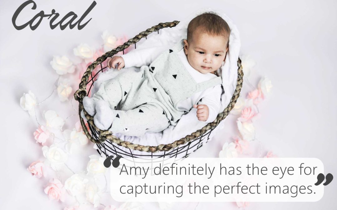 Coral's baby photo shoot