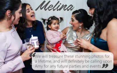 Melina's 1st Birthday photography