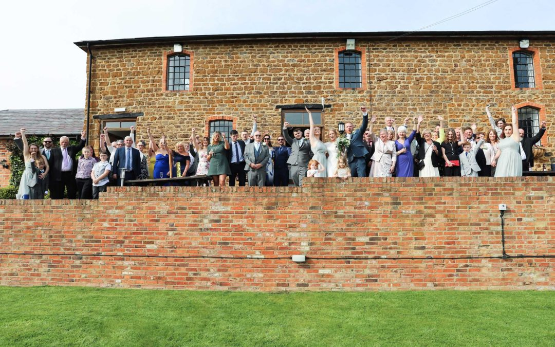 The Granary at Fawsley Wedding Photography